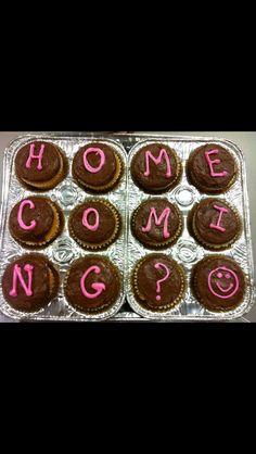 Homecoming proposal!