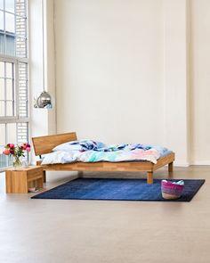 Micasa Schlafzimmer mit Bett und Nachttisch aus dem Programm CARA Toddler Bed, Furniture, Home Decor, Nightstand, Bed, Bedroom, House, Child Bed, Decoration Home
