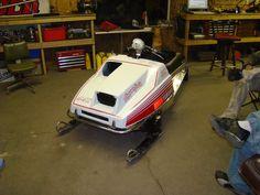 Vintage Sled, Vintage Racing, Snowmobiles, Yamaha