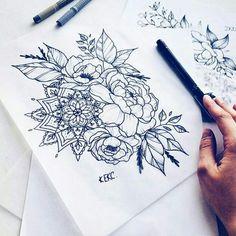 Mandala arm tattoo tattoos tattoos, mandala t Mandala Tattoo Design, Dotwork Tattoo Mandala, Mandala Flower Tattoos, Tattoo Designs, Leg Tattoos, Body Art Tattoos, Sleeve Tattoos, Tattoo Thigh, Tatoos