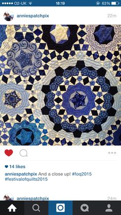 Instagram quilt by Asa Holmer
