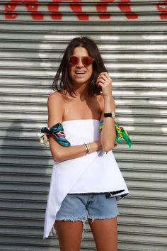 Summer look by Man Repeller (Leandra Medine), just beautiful ..