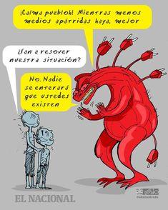 EDO: ¿Van a resolver nuestra situación? Comic Books, Comics, Memes, Cover, Frases, Law, Sarcasm, Caricatures, Places