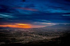 Evening Sky - Highland, CA, USA
