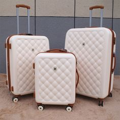 Visit the post for more. Luxury Luggage, Luxury Bags, Luggage Sets Cute, Betsey Johnson Luggage, Hard Sided Luggage, Cute Suitcases, Trolley Case, Backpack For Teens, Cute Bags
