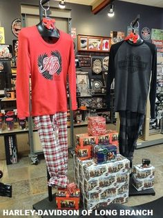 His & Her's PJs...go to bed in style! Harley-Davidson/Buell of Long Branch. www.hdlongbranch.com