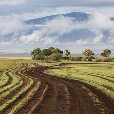 Ngorongoro crater in #Tanzania.