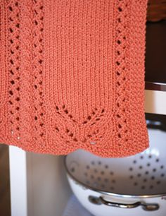 Free Classic Elite Lace Edged Hand Towel Pattern ... Designed by Amy Loberg!