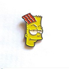 """Pin from @young_fin_  Roger Klotz x Bart Enamel Pin 1"""" in size.  Available now in his online store. http://ift.tt/1WaygUK link clickable in his bio. only 5$! perfect for your #Bart collection! .  #young_fin_ #finpins #bootlegbart #thesimpsons #bartdude #pin #pins #lapelpin #lapelpins #enamelpin #enamelpins #pinsofig #pinstagram #hatpin #hatpins #pingame #softenamel #hardenamel #patchgame #IG # by patchgame"""