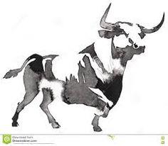 Resultado de imagen para blanco y negro toros