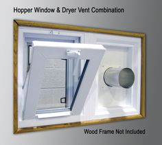 Unique Dryer Vent Basement Windows