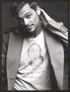 Matthew Gray Gubler- He's one of those guys that looks really good with and without facial hair and I don't trust that.