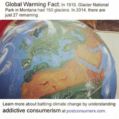 #SaveThePlanet - Start with the most powerful fact we've found about global warming and climate change.
