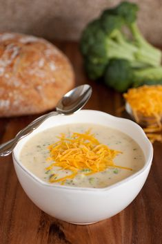 Recipe For Broccoli Cheese Soup IV - Melt butter or margarine over medium heat in a 2 quart saucepan. Cook and stir onions in butter or margarine until tender.  Add milk and cream cheese; stirring until cream cheese melts. Stir in cheese food and …