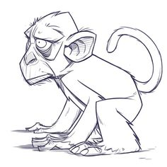 Morning monkey warm-up!