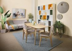 Margarita Dining Suite with Jellybean 3 Seater Lounge