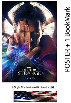 Doctor Strange Movie Poster Benedict Cumberbatch Size 24x36 Glossy Photo Paper * You can get additional details at the image link.Note:It is affiliate link to Amazon.