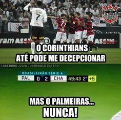 Corinthians x Palmeiras = Brasil x Argentina
