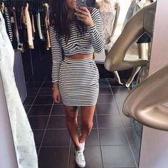 30 cute outfits with adidas shoes for girls to try this year Dress Outfits, Cute Outfits, Fashion Outfits, Sexy Outfits, Fashion Clothes, Dresses, Women's Fashion, Outfit Trends, Up Girl