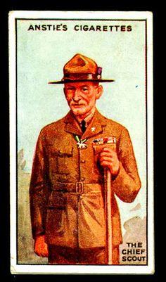 Cigarette Card - Robert Baden-Powell | Flickr - Photo Sharing!
