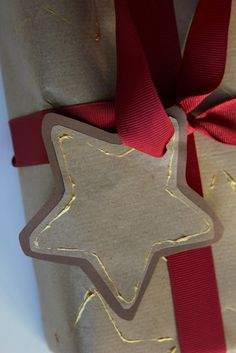 Cookie Cutter Wrapping Paper and Gift Tags - The Imagination Tree