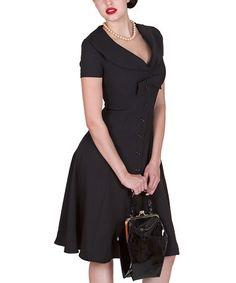 Look what I found on #zulily! Black Esmeralda Dress - Women & Plus #zulilyfinds
