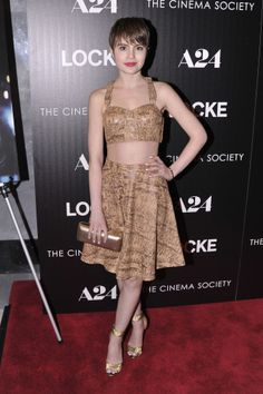 Sami Gayle at the A24 and Cinema Society screening of Locke.
