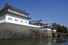 Sunpu Castle in Shizuoka, probably one of the most important castles in Shizuoka Prefecture.