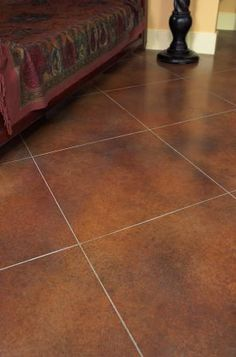 How to Stain Tile Floors | Tile flooring, House and Kitchens