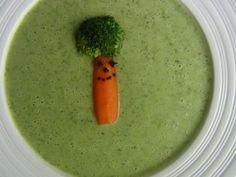 Krémová brokolicová polévka Ethnic Recipes, Food, Meals