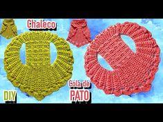Col Crochet, Crochet Poncho, Crochet For Kids, Crochet Videos, Crochet Fashion, Crochet Earrings, Projects To Try, Barbie, Symbols