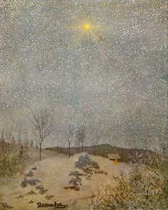 Theodor Kittelsen - December