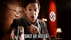 Only in Doctor Who... And that everyone is just one reason why Rory Williams is a BAMF!
