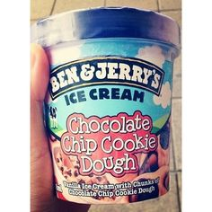 Ben and Jerry's ice cream is delicious and perfect after a sucky day at work!  I can't believe I ate the whole thing!