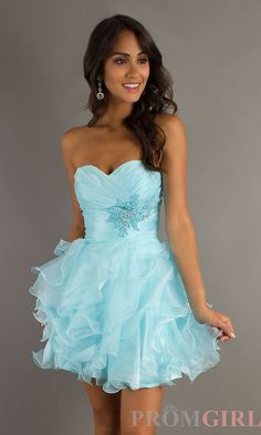 I normally don't like short dresses but this is so cute