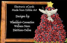 Edible Art E-Cards to Benefit the Environment and Employee Special Need Adults