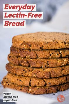 This lectin-free bread recipe is perfect for everyday satisfying little breads you can use in a variety of ways. They are nutritious, egg and dairy free. Vegan Gluten Free, Dairy Free, Lectins, Tortilla Press, Nigella Sativa, Small Tomatoes, Free Breakfast, Detox Recipes, How To Dry Oregano