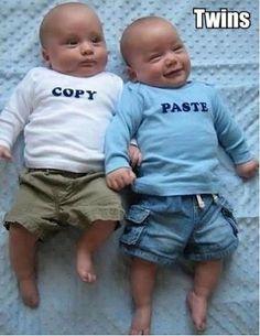 Twins = Copy & Paste