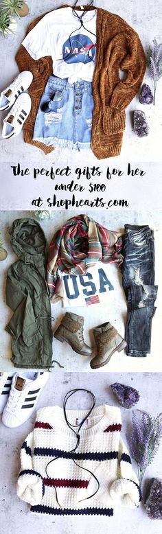 Need the perfect gift for her this holiday? Check out our best sellers all under $100. Shophearts.com