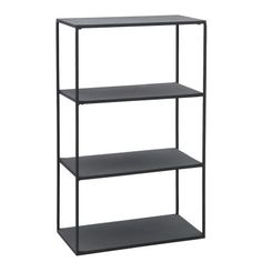 House Doctor Rack Reol - Sort reol i metal Furniture Ads, Baby Furniture, Metal Furniture, Furniture Design, Furniture Websites, Furniture Online, House Doctor, Cube Bookcase, Etagere Bookcase