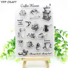 Coffee Shop Transparent Stamp – uShopnow store