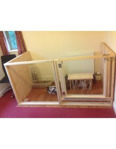 2m x 1m indoor rabbit pen or cage 3 sided