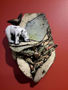 Sandra Grace Storey's Words Like Birds exhibit digs deep into all that we struggle to express. It finds a great tenderness there. Storey has created an exhibition of small, focussed sculptures for the solo show room at the Yukon Artists @ Work...