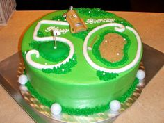 50th golfer cakes