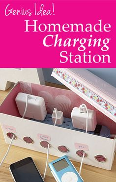 How to make a homemade charging station