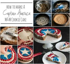 This incredibly fun, super decadent, Captain America themed M&M®'s Chocolate Chip Cookie Cake will have all the Superhero loving members of your family smiling and going back for bite after bite of deliciousness and is part of a shop that has been compensated by Collective Bias, Inc. and its advertiser. All opinions are, as always, […]