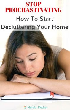 Start decluttering your home today even if you don't feel like it. Declutter Bedroom, Declutter Home, Declutter Your Life, Clutter Organization, Home Organization Hacks, Organizing Tips, Decluttering Ideas, Organising, Clutter Control