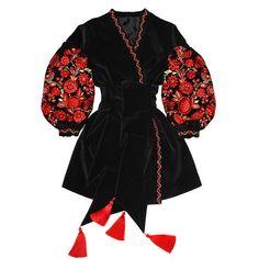 Boho Fashion, Fashion Dresses, Fashion Design, Gothic Fashion, Mode Russe, Mode Lookbook, Ukrainian Dress, Mein Style, Black Velvet Dress