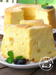 Sweet Cream Corn Chiffon Cake.