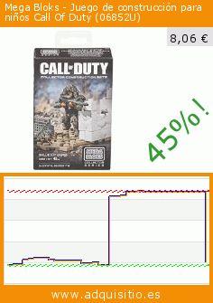 Mega Bloks - Juego de construcción para niños Call Of Duty (06852U) (Juguete). Baja 45%! Precio actual 8,06 €, el precio anterior fue de 14,71 €. https://www.adquisitio.es/mega-bloks/juego-construcci%C3%B3n-ni%C3%B1os-8